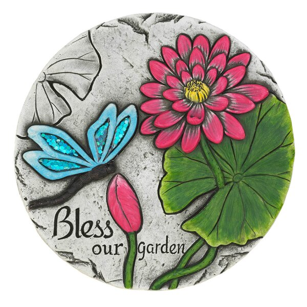 Macaulay Bless Our Garden Butterfly Step Stone by Winston Porter