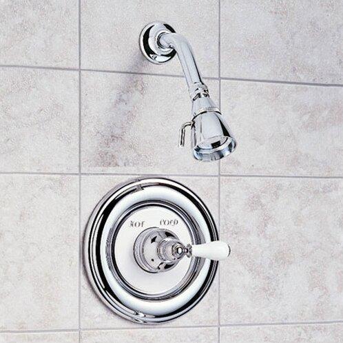 American Standard Hampton Shower Trim Kit With Porcelain Lever ...