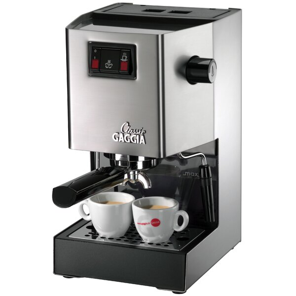 Classic Semi-Automatic Espresso Machine by Gaggia