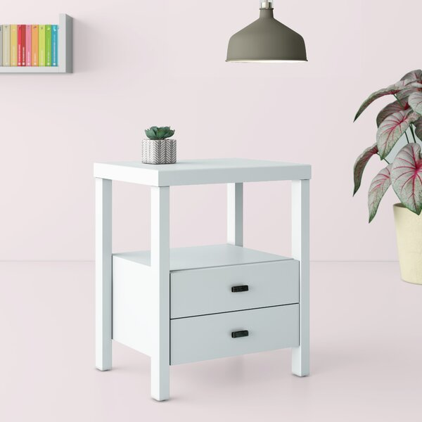 Leflore 2 Drawer End Table By Hashtag Home