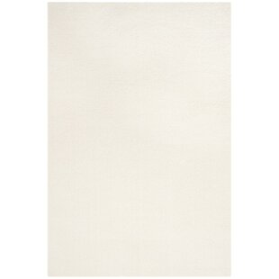 Look for Bivins White Area Rug By Mercury Row