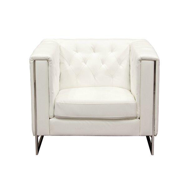 Chelsea Leatherette Armchair by Diamond Sofa