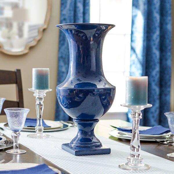 Sigmon Ceramic Urn Table Vase by Three Posts