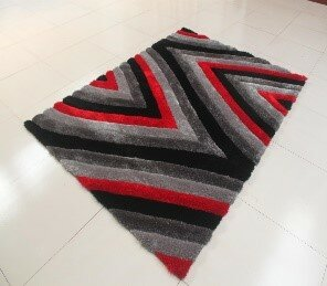 Kishor Rectangle Black/Gray Area Rug by Orren Ellis