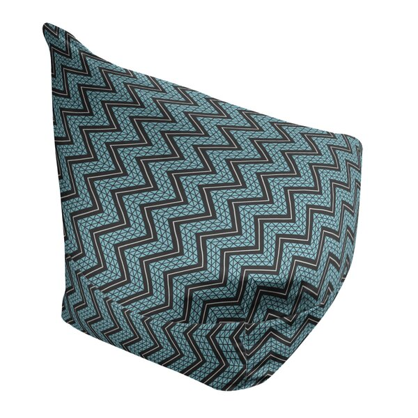 Classic Hand Drawn Chevron Bean Bag Cover By East Urban Home