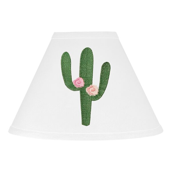 Cactus Floral 10 Fabric Empire Lamp Shade by Sweet Jojo Designs
