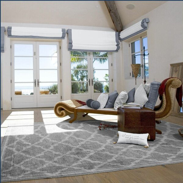 Westwood Gray Area Rug by Charlton Home