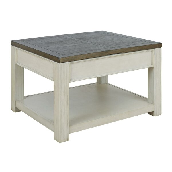 Terkel Lift Top Extendable 4 Legs Coffee Table With Storage By Gracie Oaks