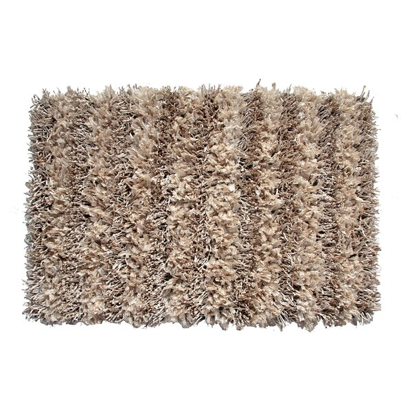 Grimsley Hand-Woven Sand Area Rug by Ebern Designs
