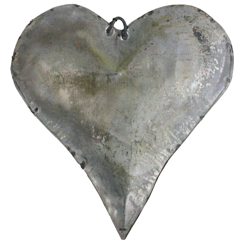 Ullman Tin Man's Heart Galvanized