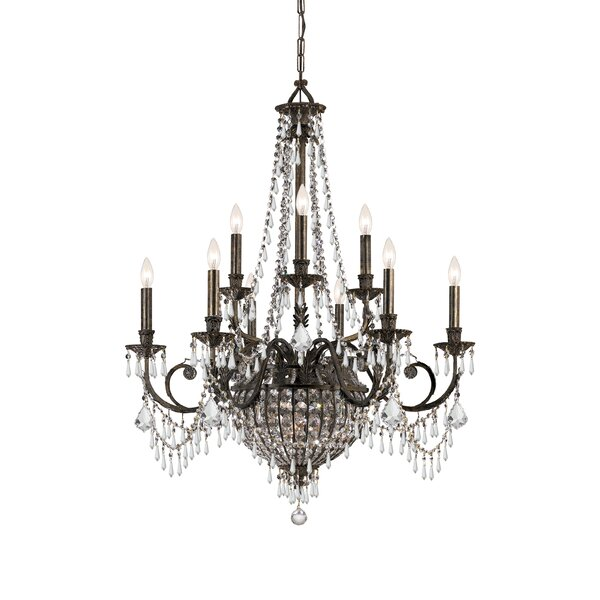 Markenfield 12-Light Candle Style Empire Chandelier By Astoria Grand