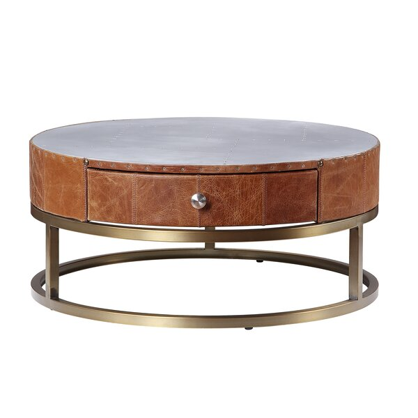 Rizer Frame Coffee Table With Storage By Union Rustic