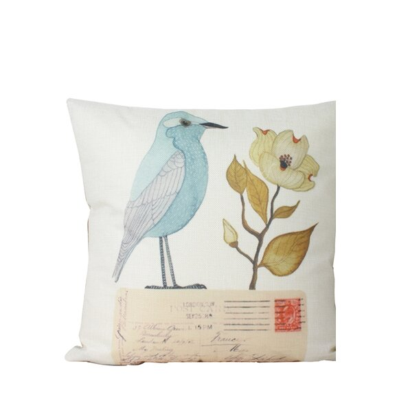 Edlingham Print Throw Pillow by Winston Porter