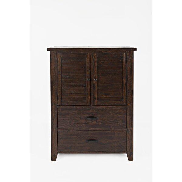 Delma 2 Drawer Combo Dresser by Loon Peak