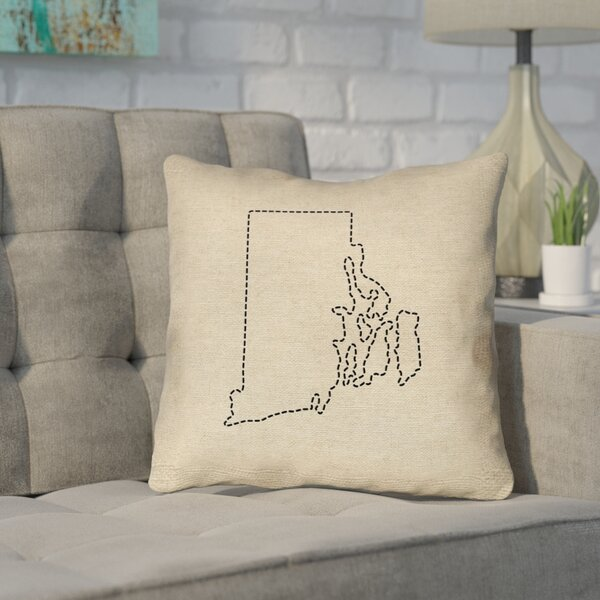 Sherilyn Rhode Island Outdoor Throw Pillow