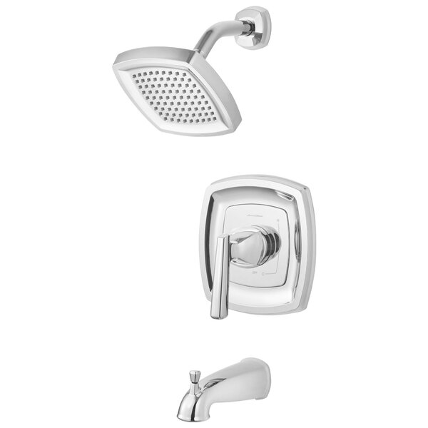 Edgemere Thermostatic Tub and Shower Faucet Lever