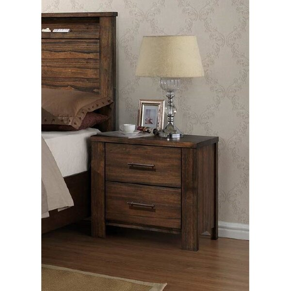 Darr 2 Drawer Nightstand by Foundry Select