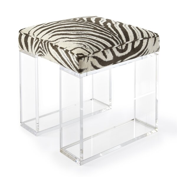 Sydney Vanity Stool by Square Feathers