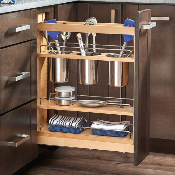 5 Pull-Out Cabinet Utensil Organizer by Rev-A-Shelf