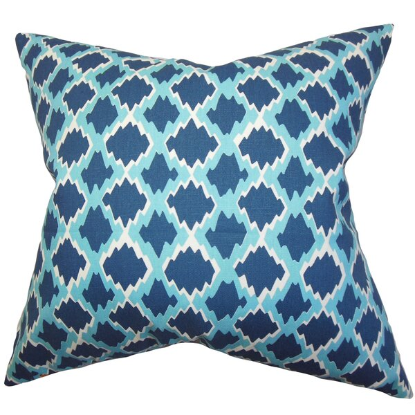 Cassella Geometric Floor Pillow by Latitude Run