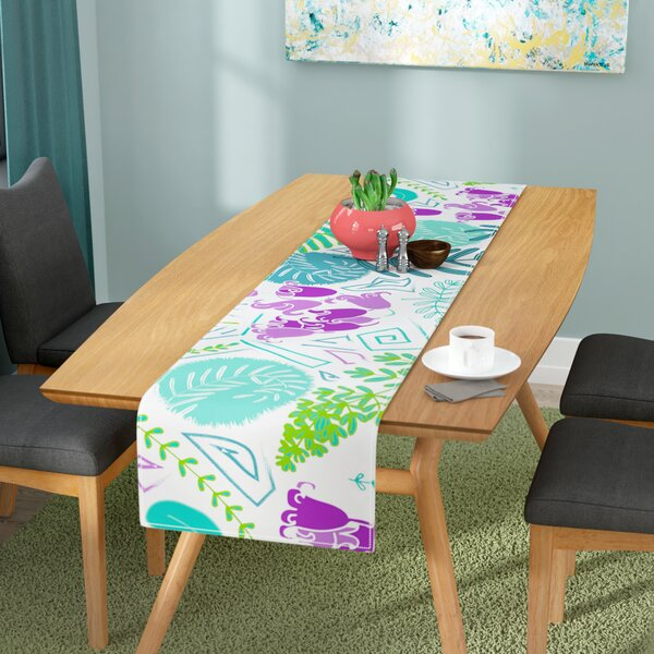 Anneline Sophia Fern Forest Table Runner by East Urban Home