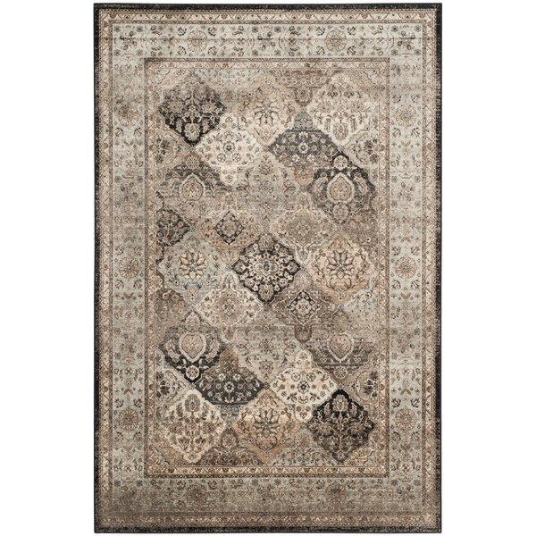 Jules Light Blue/light Beige Area Rug By Darby Home Co.