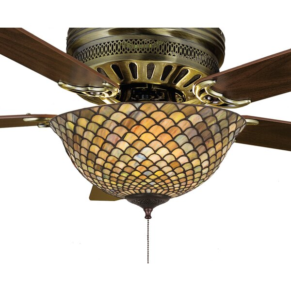 3-Light Bowl Ceiling Fan Light Kit by Astoria Grand