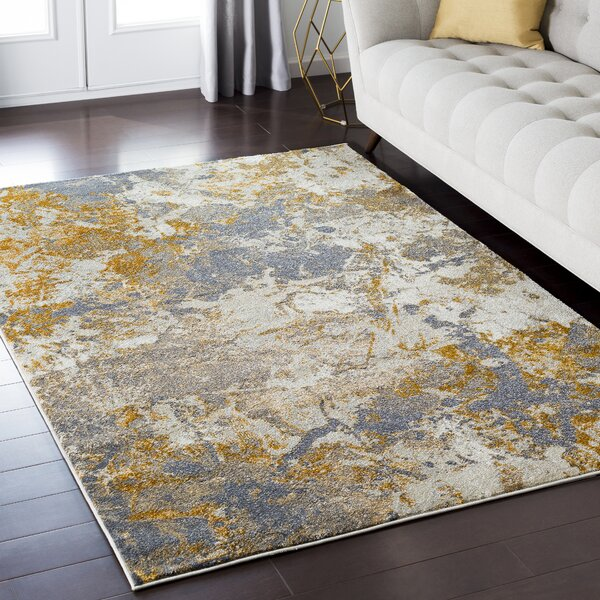 Redcloud Orange/Brown Area Rug by Trent Austin Design