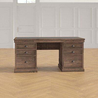 Canora Grey Solid Wood Executive Desk Desks