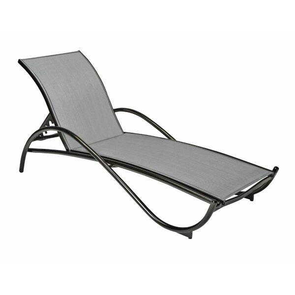 Tribeca Reclining Chaise Lounge by Woodard Woodard