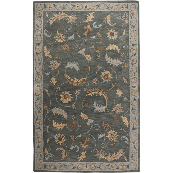 Croatia Hand-Tufted Blue Area Rug by Meridian Rugmakers