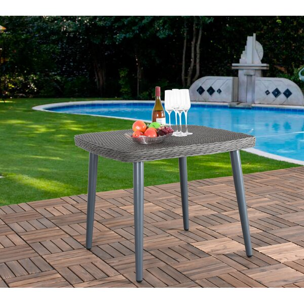 Rutha Wicker/Rattan Dining Table by Bungalow Rose