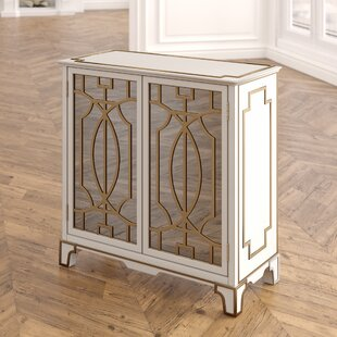 Deals Carlene Traditional Mirrored 2 Doors Accent Chest ByHouse of Hampton