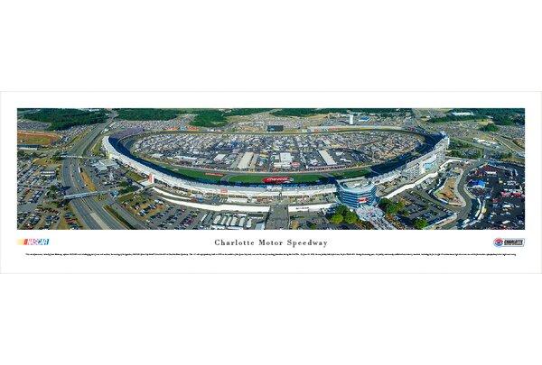 NASCAR Charlotte Motor Speedway by James Blakeway Photographic Print by Blakeway Worldwide Panoramas, Inc