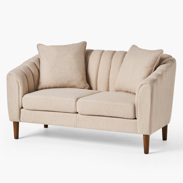 59.25'' Round Arm Loveseat by George Oliver George Oliver