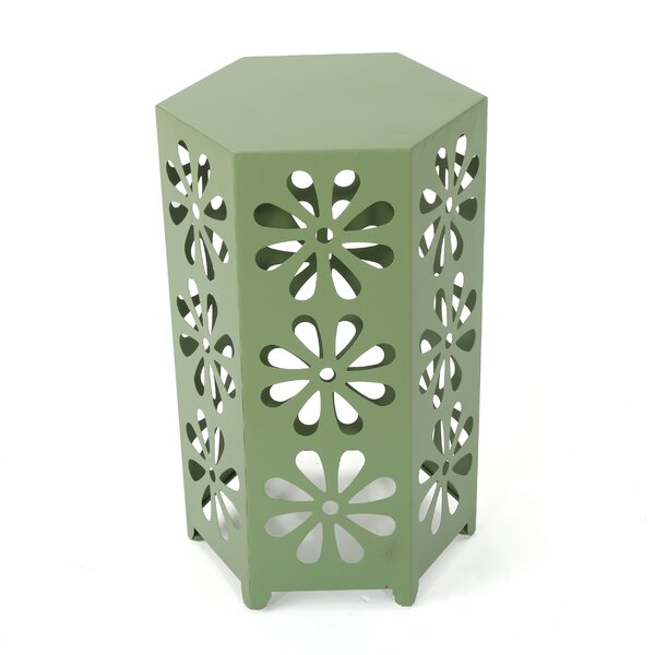 Perera Metal Side Table by Wrought Studio