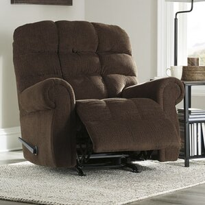 Barchetta Manual Rocker Recliner by Loon Peak
