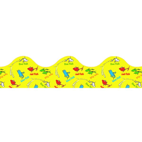 Dr Seuss 1 Fish 2 Fish Trimmer Classroom Border by