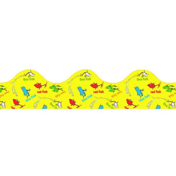 Dr Seuss 1 Fish 2 Fish Trimmer Classroom Border by Eureka Classroom