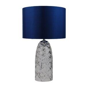 parkville 54cm table lamp - Navy Blue Table Lamp