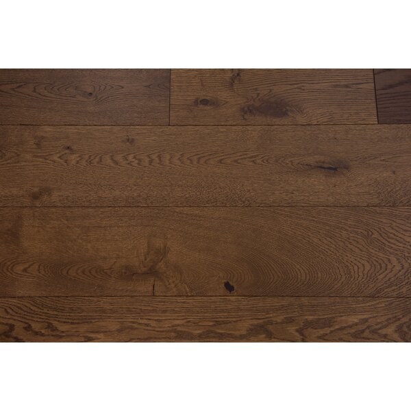 Santorini 7-1/2 Engineered Oak Hardwood Flooring in Leather by Branton Flooring Collection