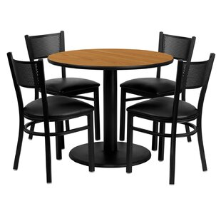Lomonaco 5 Piece Dining Set By Winston Porter