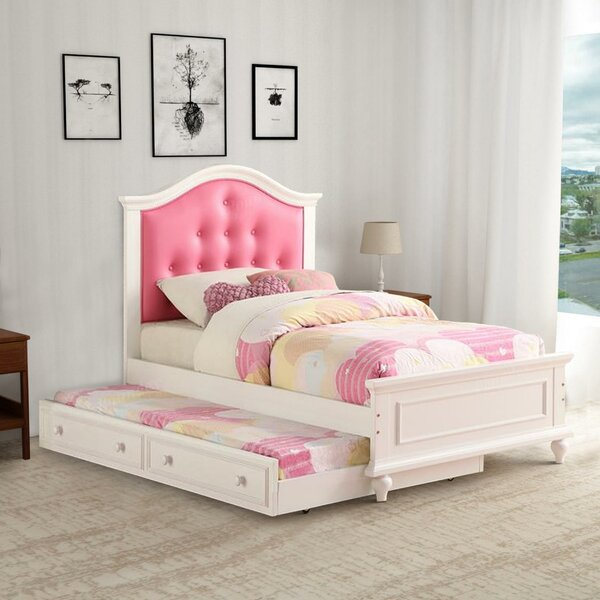 Donham Twin Platform Bed with Trundle by Harriet Bee
