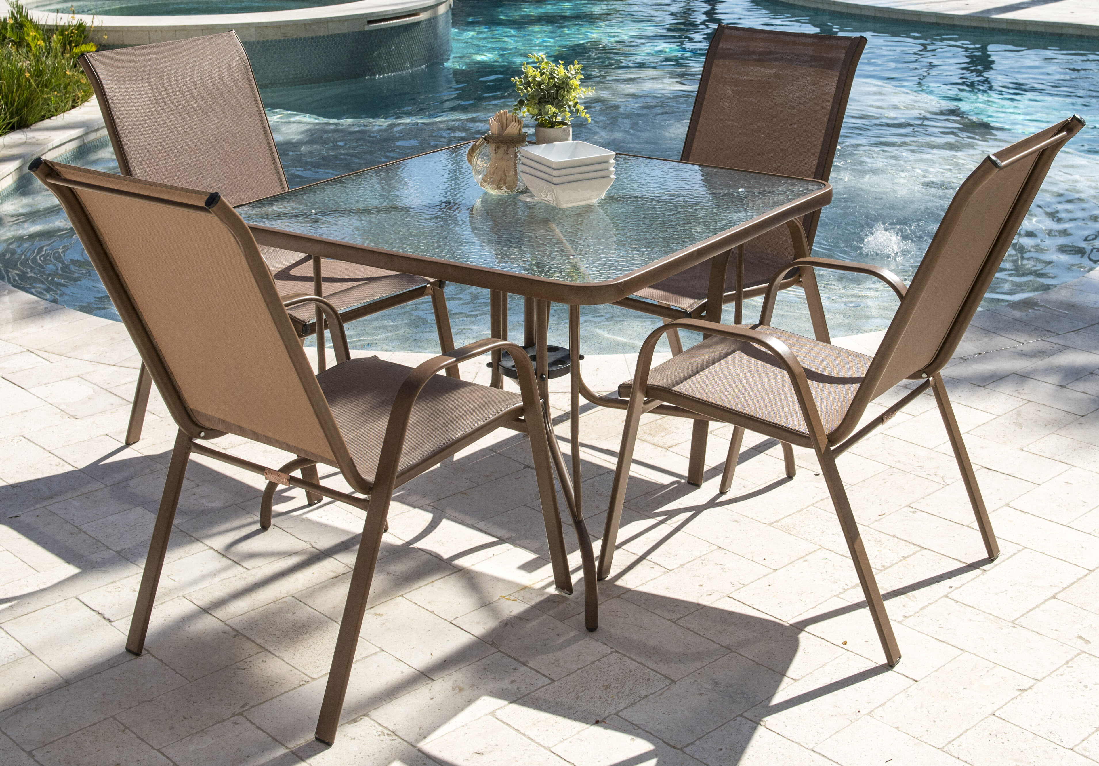 Merveilleux Panama Jack Café Dining Set U0026 Reviews | Wayfair