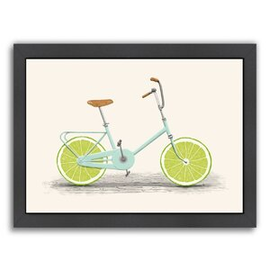 Acid Framed Gallery Frame Graphic Art by East Urban Home