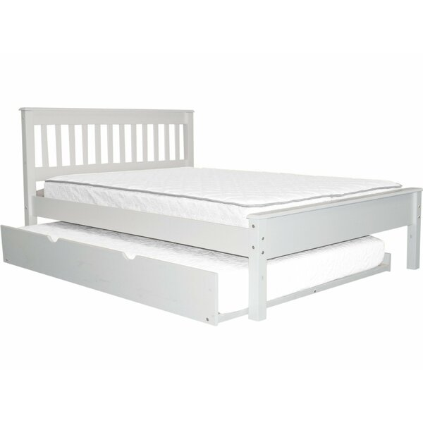 Treva Full Slat Bed with Trundle by Harriet Bee