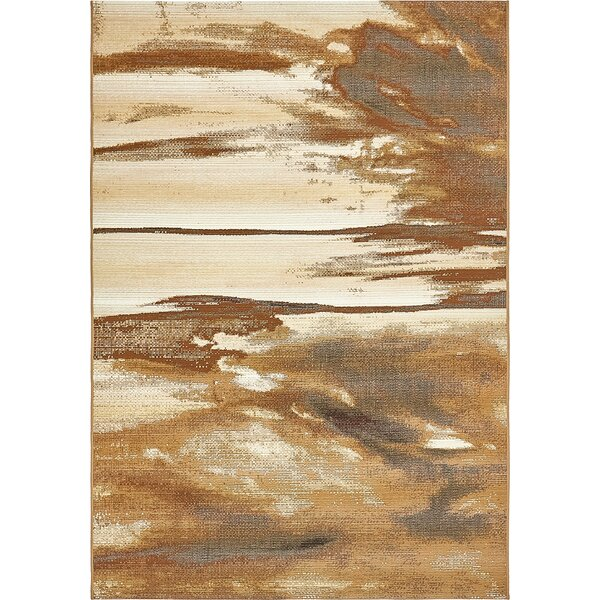 Skylar Brown Indoor/Outdoor Area Rug by Latitude Run