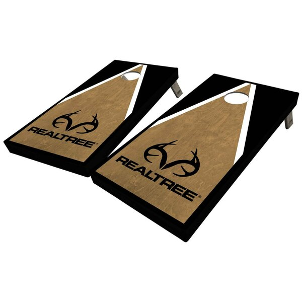 Realtree Triangle 10 Piece Cornhole Set by West Georgia Cornhole