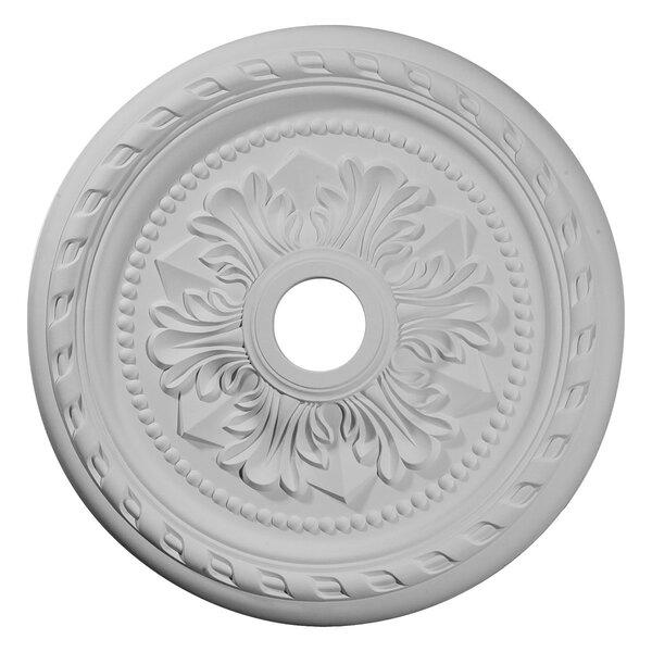 Palmetto 1/9H x 23 5/8W x 1 5/8D Ceiling Medallion by Ekena Millwork