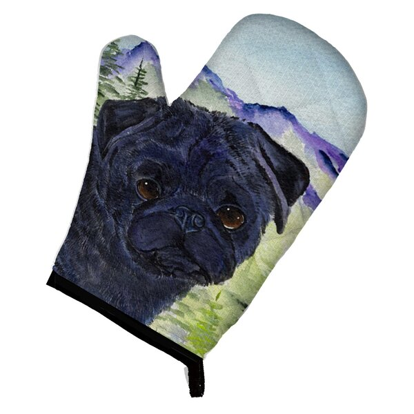 Pug Oven Mitt by East Urban Home
